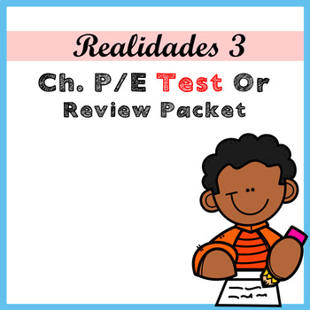 Realidads 3.Para Empezar Unit Test or Review Packet