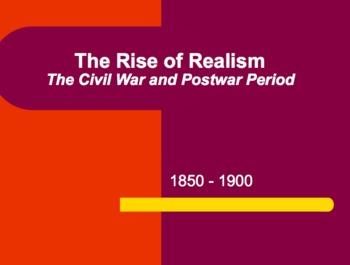 Realism PowerPoint Presentation