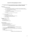 Realism Unit Argumentative Outline - Categorizing Works of