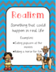 Realism and Fantasy Foldable and Activities