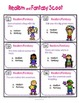 Realism and Fantasy Literacy Activity or Scoot Game