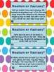 Realism and Fantasy Literacy Learning Center and/or Task Card Activity
