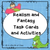 Realism and Fantasy Task Cards and Activities