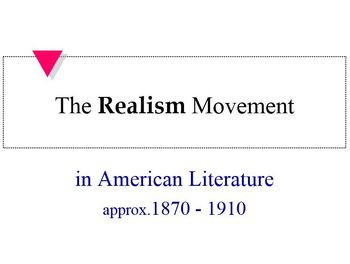 Realism in American Literature
