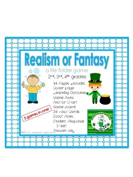 Realism or Fantasy:  a file folder game