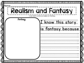 Realism or Fantasy {Bundle}