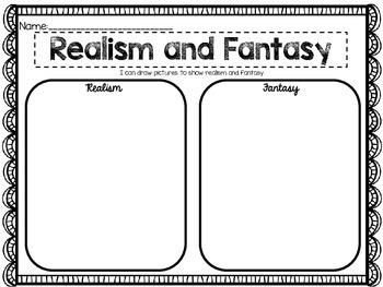 Realism vs Fantasy {Reading Response}