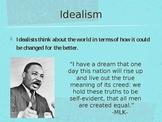 Realism vs. Idealism Power Point