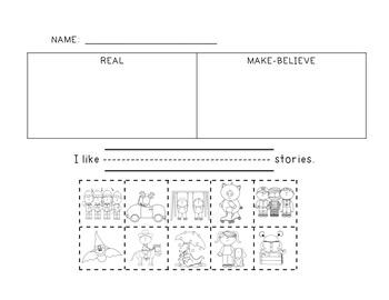 Realism/Fantasy Mini-Lesson