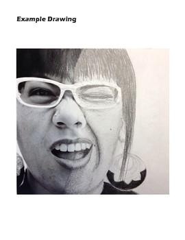 Realistic Portrait High School Art Lesson