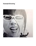 Photo Realism Portrait High School Art Lesson