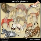 3D Africa 2 - Animals