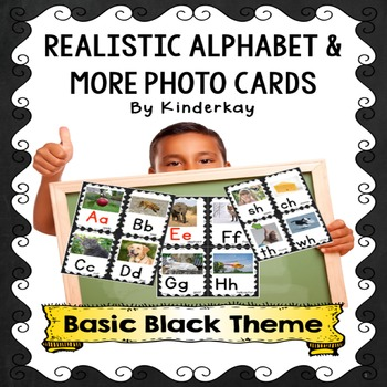 Realistic Alphabet and More Photo Cards