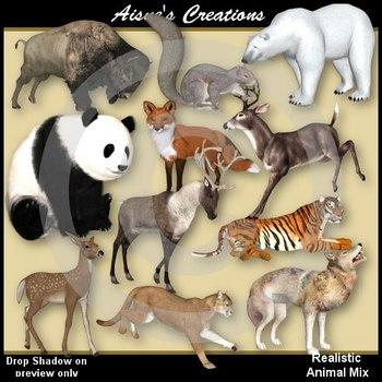 3D Animal Mix