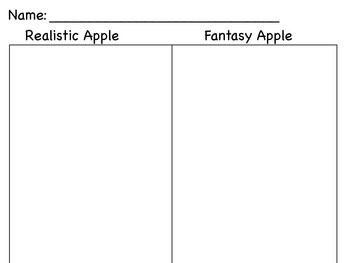 Realistic Apple or Fantasy Apple sort - color by code