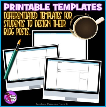 Editable Blog Templates for ANY TOPIC