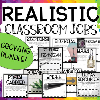 Realistic Classroom Jobs