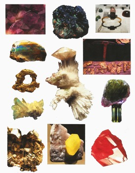 Realistic Commercial Clip Art: Minerals, Crystals, and Gems