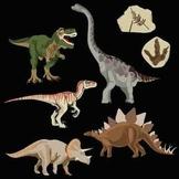 Realistic Dinosaur Clip Art