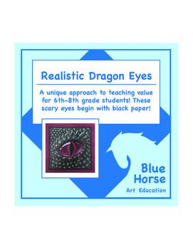 Realistic Dragon Eyes