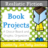 Book Project: Realistic Fiction Genre Choice Board