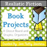 Book Project: Realistic Fiction Genre Choice Board