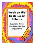 Realistic Fiction Book Report Instructions & Rubric