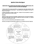 Realistic Fiction Book Report - Story Wheel - Directions a