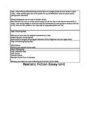 Realistic Fiction Essay Unit
