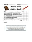 Realistic Fiction Grading Rubric