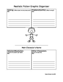 Realistic Fiction Graphic Organizers (Girl and Boy)