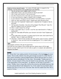 Realistic Fiction Journal Prompts (for analyzing & reflecting)