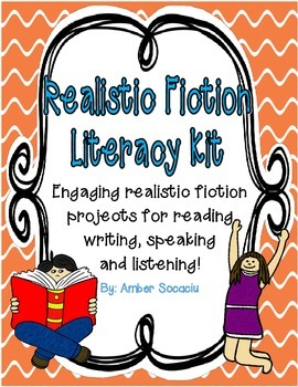 Realistic Fiction Activities for Centers, Whole Group, or Take-Home Projects