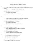 Realistic Fiction Narrative Rubric Checklist