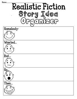 Realistic Fiction Organizer