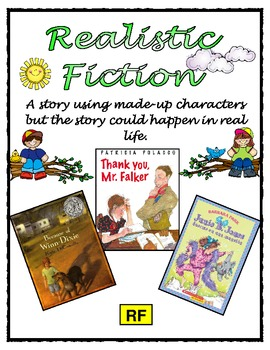 Realistic Fiction Poster