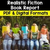 Realistic Fiction Book Report
