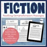 Realistic Fiction Reading Comprehension Passages & questio