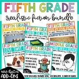 Fifth Grade Reading Unit - Realistic Fiction Bundle