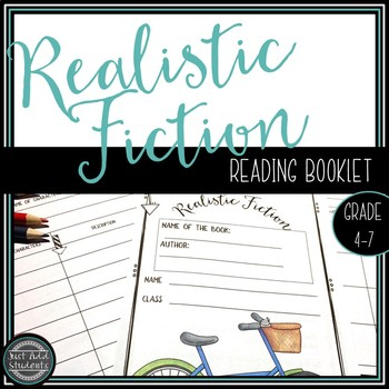 Realistic Fiction Reading Workshop Booklets