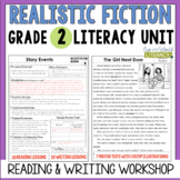 Realistic Fiction Reading & Writing Unit: Grade 2...2nd Edition!