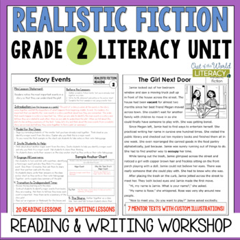 Realistic Fiction Reading & Writing Unit: Grade 2...40 Les