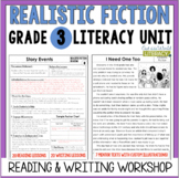 Realistic Fiction Reading & Writing Unit: Grade 3...2nd Edition!