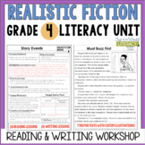 Realistic Fiction Reading & Writing Unit: Grade 4...2nd Edition!