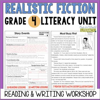 Realistic Fiction Reading & Writing Unit: Grade 4...40 Les