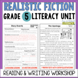 Realistic Fiction Reading & Writing Unit: Grade 5...2nd Edition!