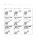 Realistic Fiction Rubric to Staple and Go!