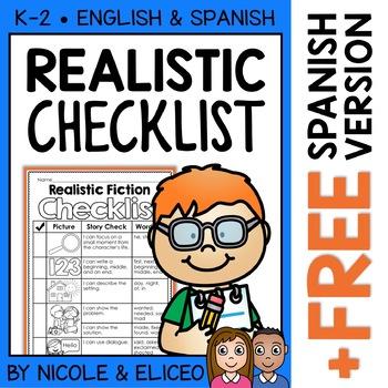 Realistic Fiction Writing Checklist