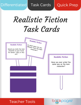 Realistic Fiction Task Cards