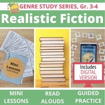 Realistic Fiction Unit BUNDLE: 20 Mini Lessons, 15 Read Alouds with Extensions